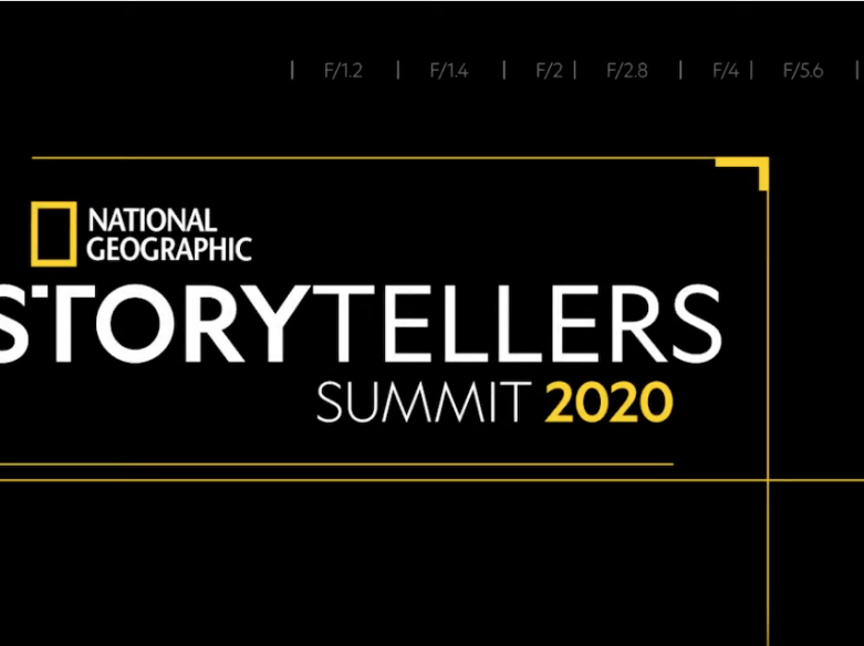 Citlali Fabian en el Storytellers Summit de National Geographic