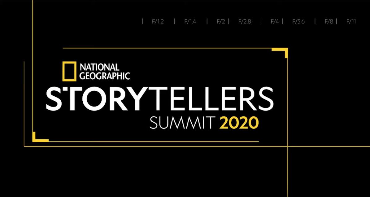 Citlali Fabian en el Storytellers Summit de National Geographic