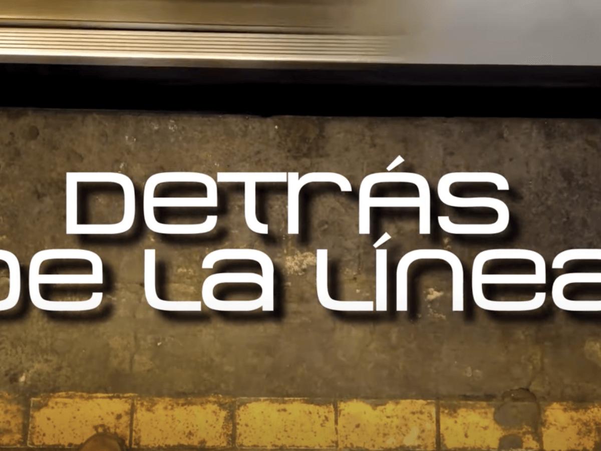 Detrás de la linea